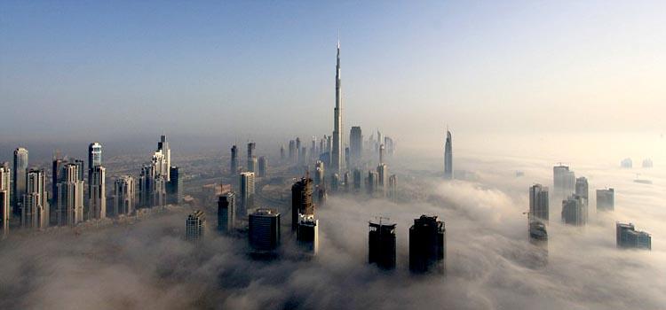 A Foggy Morning in Dubai (7 Photos)