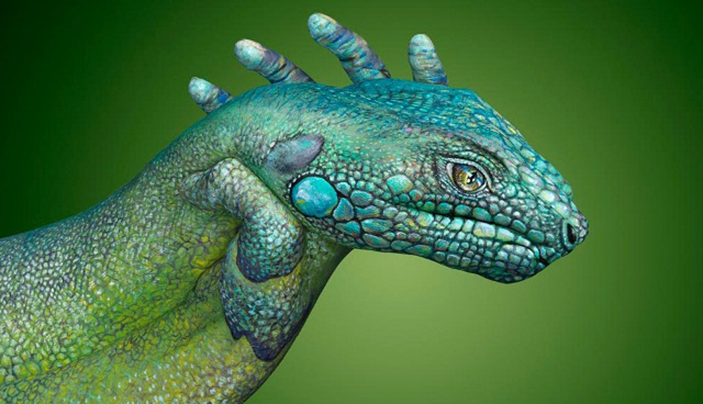 Amazing Animals – Hands Art (14 Photos)