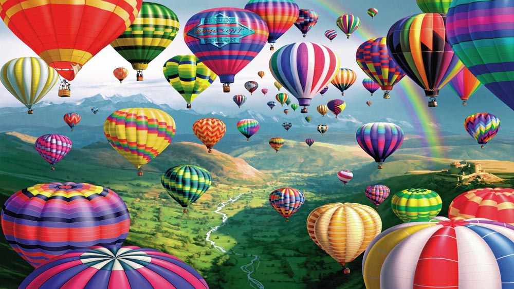 Hot Air Balloons (8 Photos)
