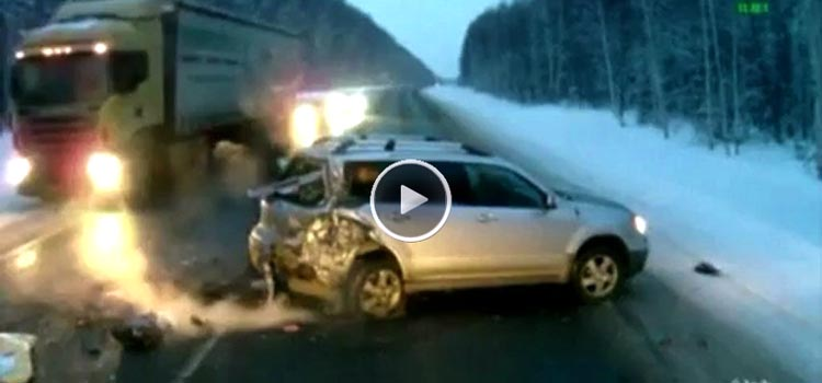 Compilation of Narrow Escapes from Death (Video)