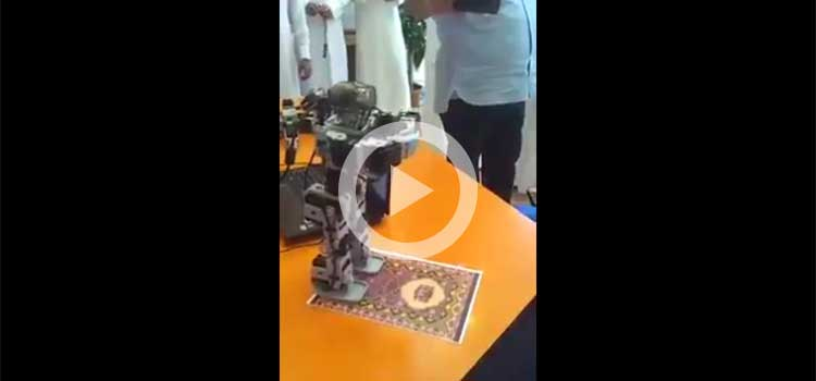 School Teacher Builds Robot to Teach Children Prayers (Video)