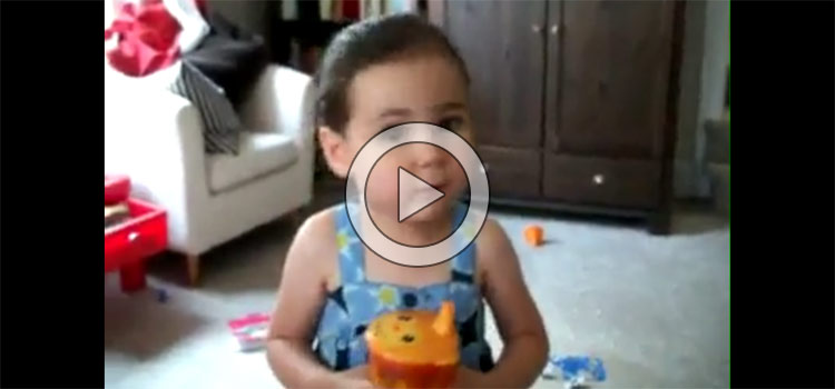 Don't Stop, Don't Give Up… Cutest Prep Talk Ever (Video)