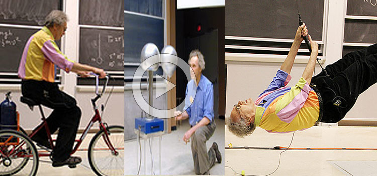 Walter H. G. Lewin – Best Physics Teacher Ever (Video)