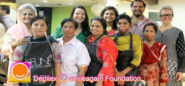 Smile Again Foundation by Musarrat Misbah for Acid Attack Victims