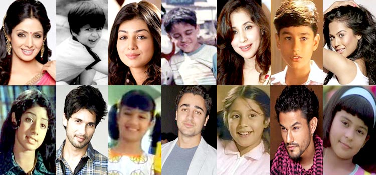 7 Bollywood Celebrities Who Started Off As Child Actors