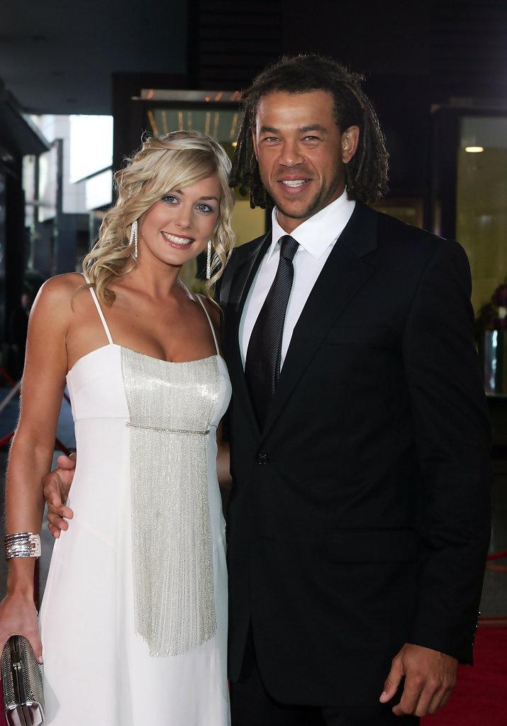 Andrew Symonds and Katie Johnson