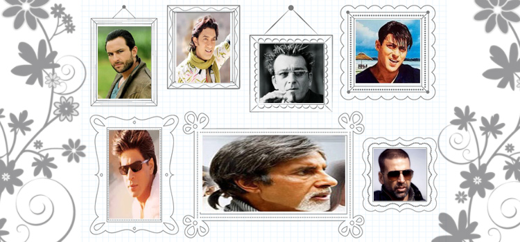 Bollywood Actors with Different Hairstyles (Photo Feature)