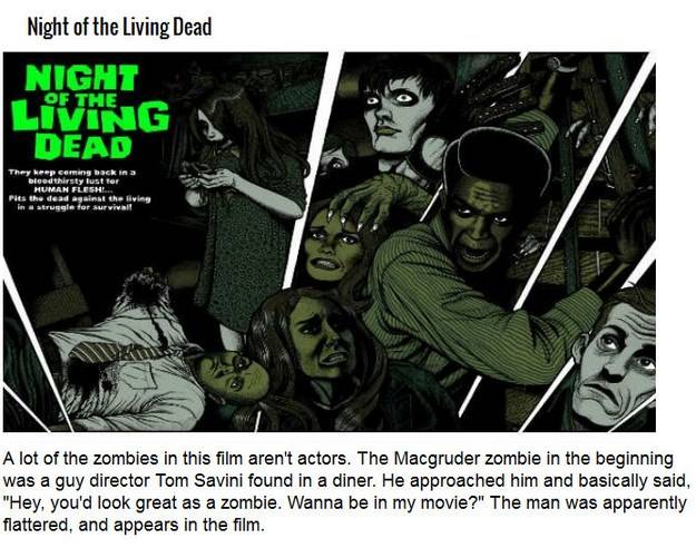 Night of The Living Dead ... InfoMaza