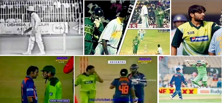 Pakistan – India Fights on Cricket Ground – Videos