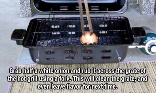 1. Onion Grill Cleaner