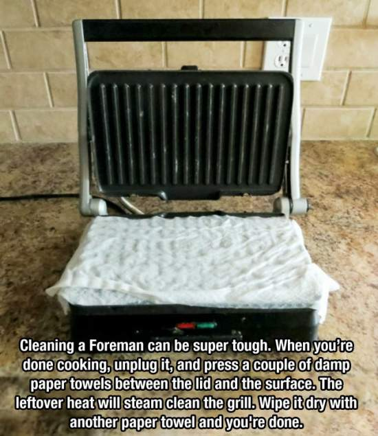 11. Two Easy Steps For A Clean Grill