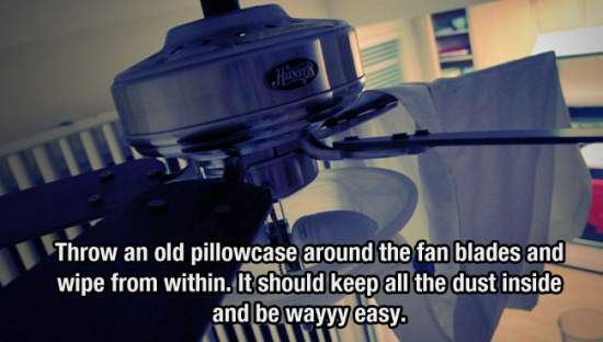 5. Pillow Case Fan Cleaner
