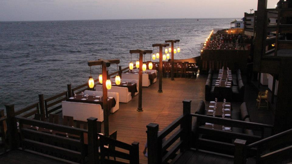 "7- Dinner at ""Do Darya"", Karachi"