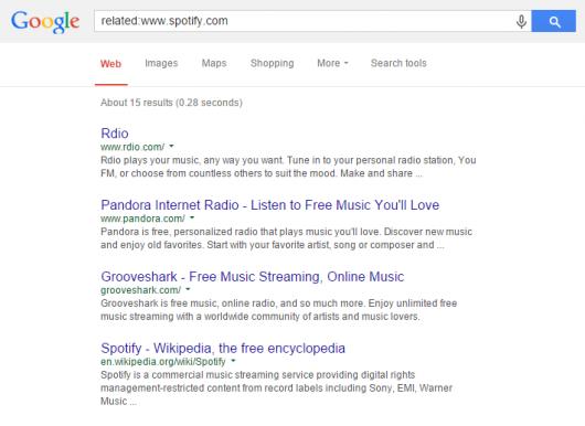 8. Find similar websites