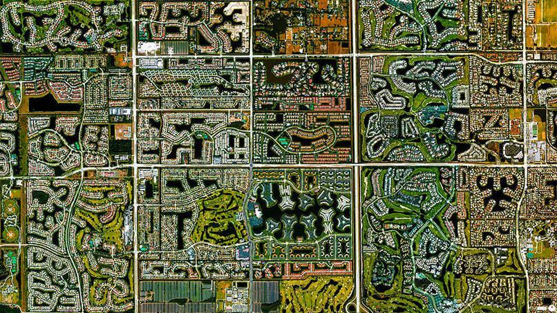 Boca Raton, Florida, USA Satalite Images