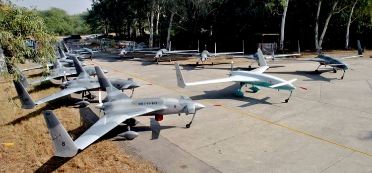 Pakistan Tests First Indigenous Armed Drone, Laser Guided Missile
