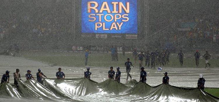 پاکستان اور جنوبی افریقا کے میچ میں بارش کی پیش گوئی