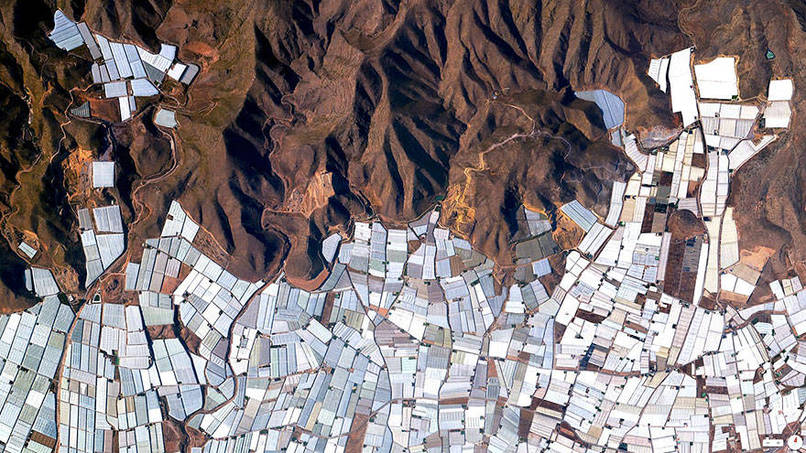 Plasticulture - Greenhouses, Almeria, Spain Satalite Images