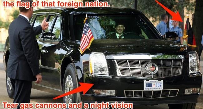 President Obama's Car 01