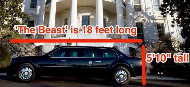 President Obama's Car 02