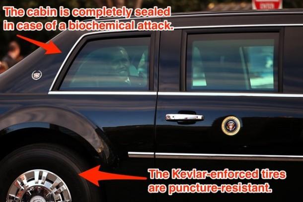 President Obama's Car 04