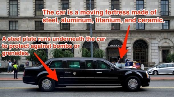 President Obama's Car 08