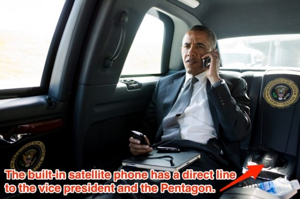 President Obama's Car 09