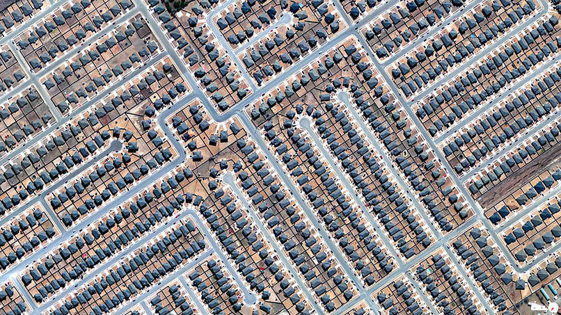 Residential Development, Killeen, Texas, USA Satalite Images