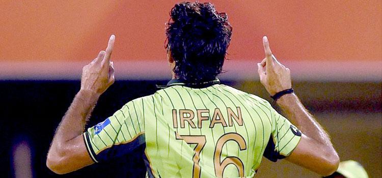 فاسٹ باﺅلر محمد عرفان انجری کے باعث ورلڈکپ 2015ءسے باہرہوگئے