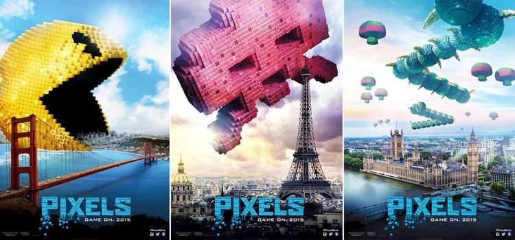 Pixels, The Movie (2015) Trailer, Wallpapers and Movie Details