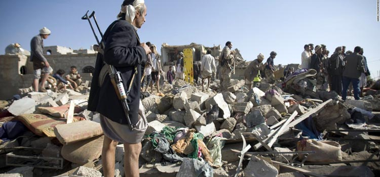 Saudi Arabia Launches Air Strikes in Yemen
