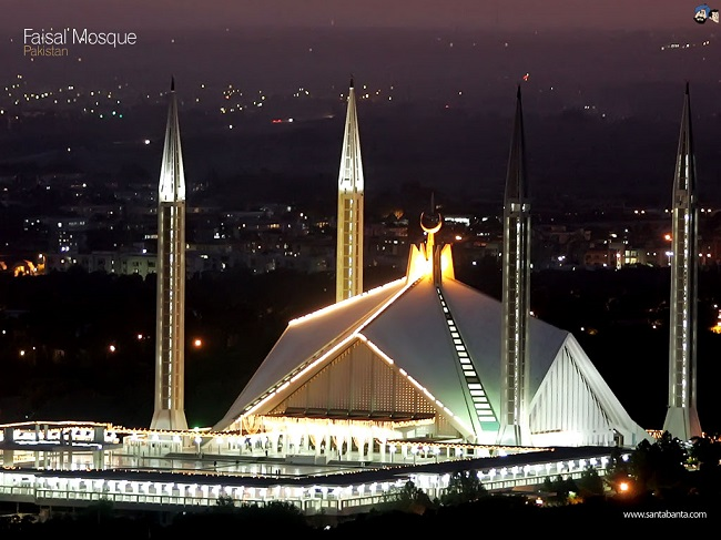 1- A spiritual visit to the Faisal Mosque