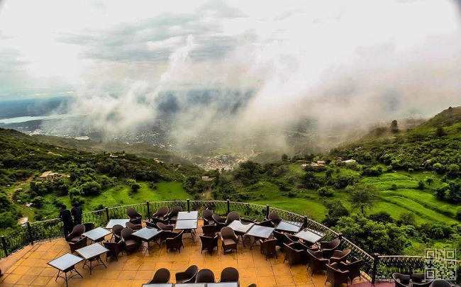 2- Lunch at The Monal Restaurant, Pir Sohawa