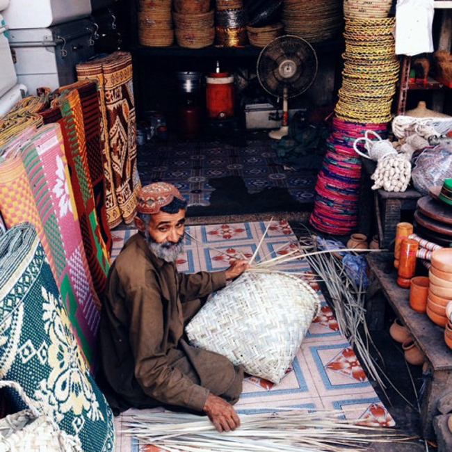 5- And our handicrafts are renowned across the world