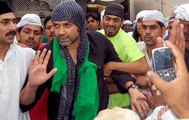 Boby Deol on Mazar Shareef of Hazrat Khuwaja Ghareeb Nawaz