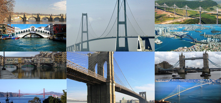 10 Most Famous Bridges In The World