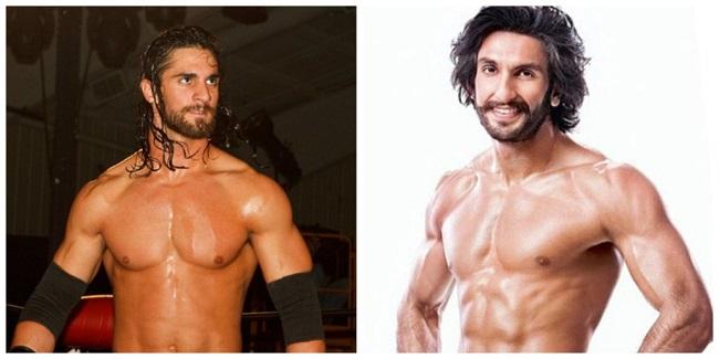 Ranvir Singh & Seth Rollins