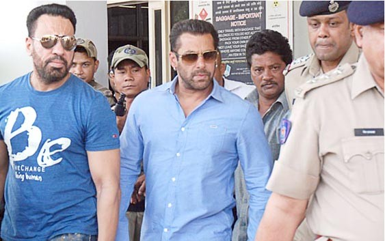 Salman Found Guilty, Sentenced to 5 Years in Jail