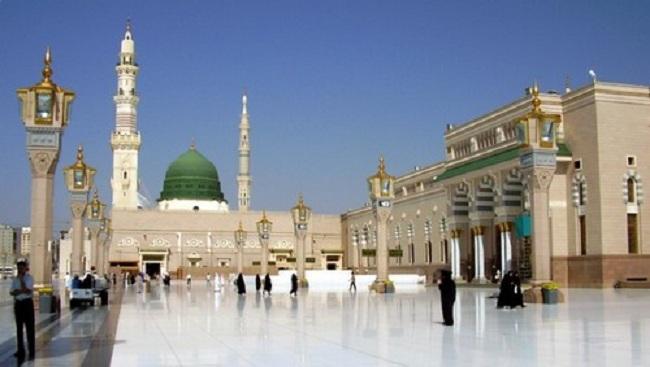 2.  Al-Masjid an-Nabawi – Medina, Saudi Arabia