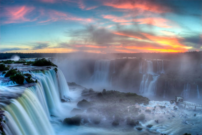 27. Iguazu Falls (border Between Argentina-brazil)