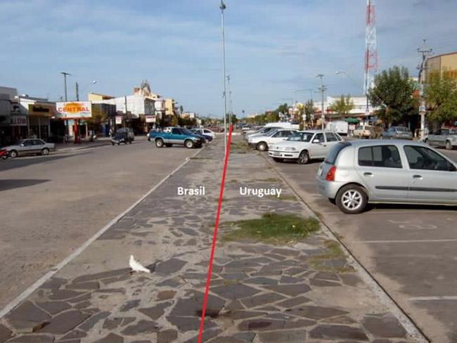38. Chui, Uruguay – Brazil Border