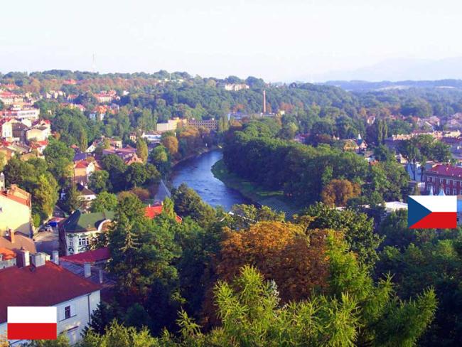 43. Poland (cieszyn) And Czech (Český Těšín)