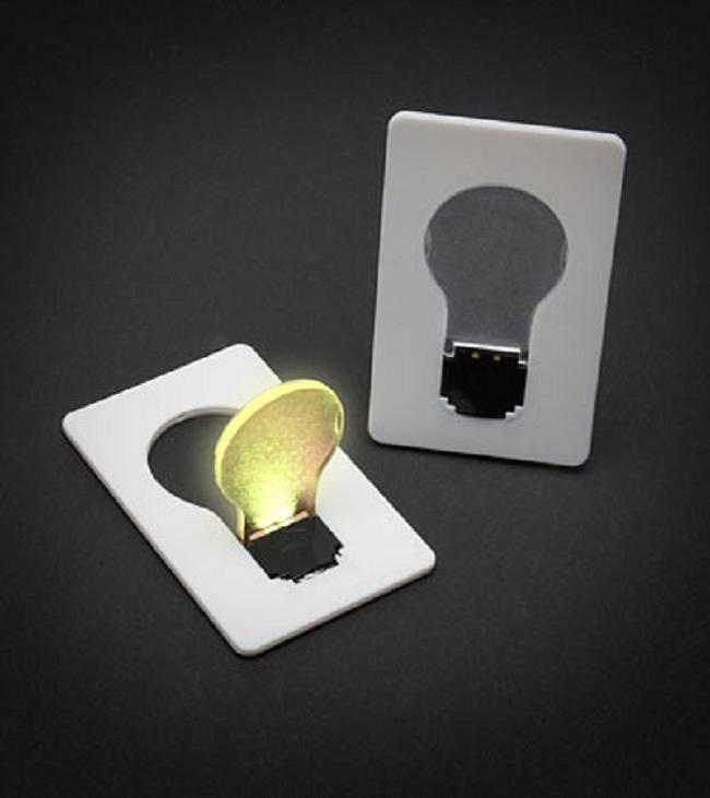 6. Credit Card Lightbulb