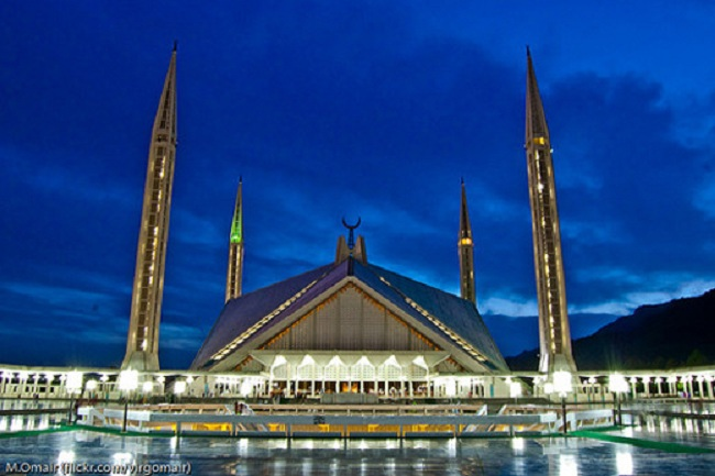 1.Shah Faisal Mosque