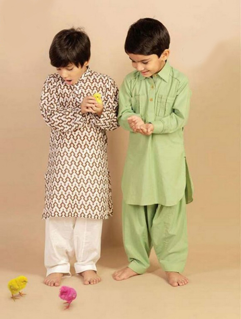 Children Eid Dresses 2015 (1)