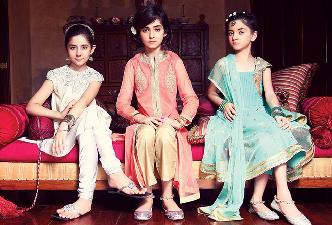 Children Eid Dresses 2015 (2)