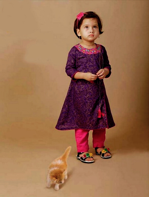 Children Eid Dresses 2015 (5)
