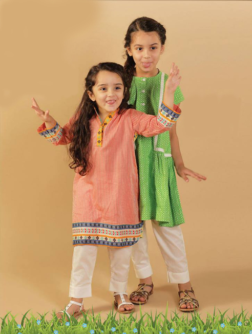 Children Eid Dresses 2015 (8)