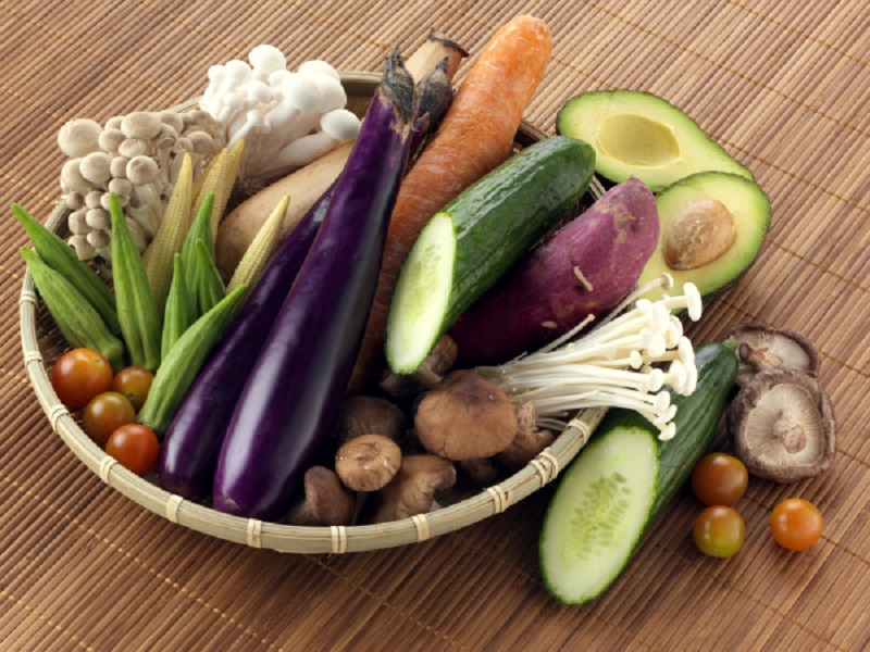 Eat more than 5 types of vegetables a day
