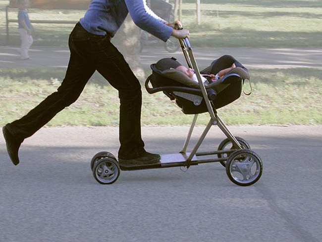 12. Baby Scooter Strollers